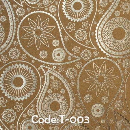 کاغذ-کادو-کرافت-طلاکوب-کد-t03