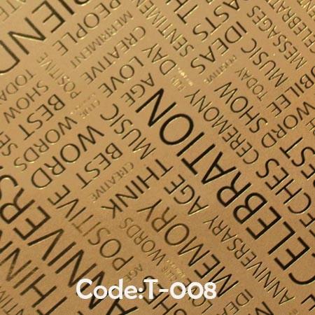 کاغذ-کادو-کرافت-طلاکوب-کد-t08